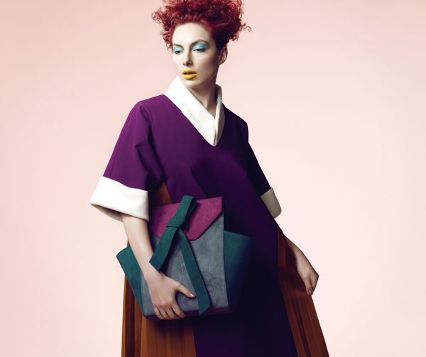 Ji In's Lookbook_Thesis Collection on Behance