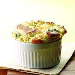 Broccoli & Goat Cheese Souffle - EatingWell.com