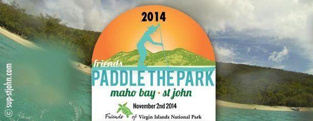 Paddle the Park 2014, St John USVI - Caribbean Paddling