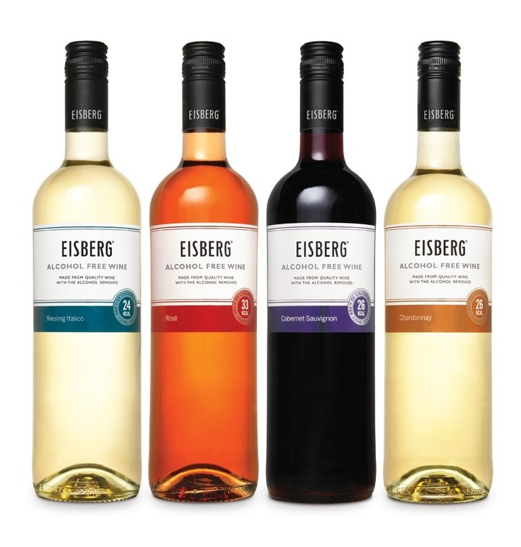 Eisberg Alcohol Free Wines Low Calorie