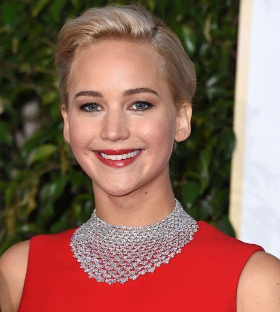 Montag: Jennifer Lawrence mit einem umwerfenden Dutt