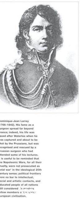 Dominique jean Larrey (1766-1842) famous surgeon