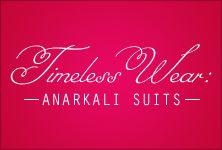 #Anarkalis are never out of fashion and it's trending now. Shop for the designer #anarkalis at http://www.deepkalasilk.com/salwar-kameez/anarkali-suits.html! #deepkalasilk