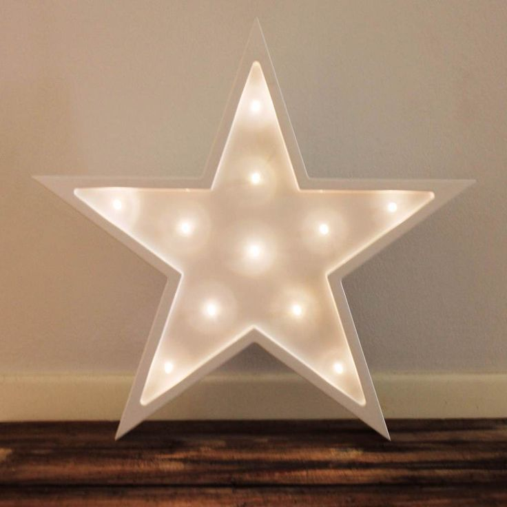 Little Letter Light Co's battery operated Star Lights are a unique, safe addition to any child's bedroom. Providing a warm white light, our Australian Designed, low voltage LED lights have an approximate lifespan of 30,000 hours.Freestanding and weighing approximately 1kg - all of our Little Letter Light Company lights, are wall mountable using simple picture hanging strips. With two settings, bright and dim this star is the perfect night light for little people and big ...