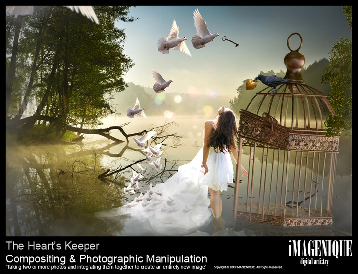 The Heart's Keeper Digital Compositing & Photographic Manipulation. Copyright © 2013 iMAGENIQUE. All Rights Reserved.