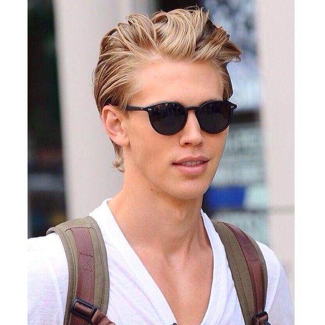 light golden hair highlights for men