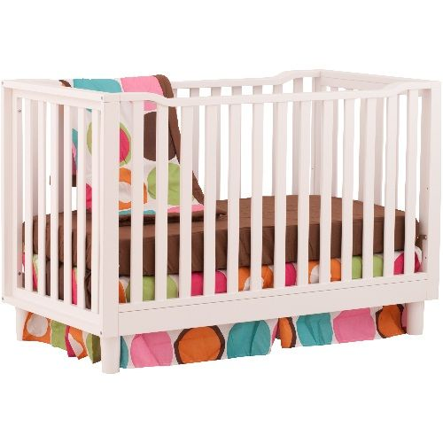 santino 3in1 fixed side convertible crib by stork craft at babyearth baby crib