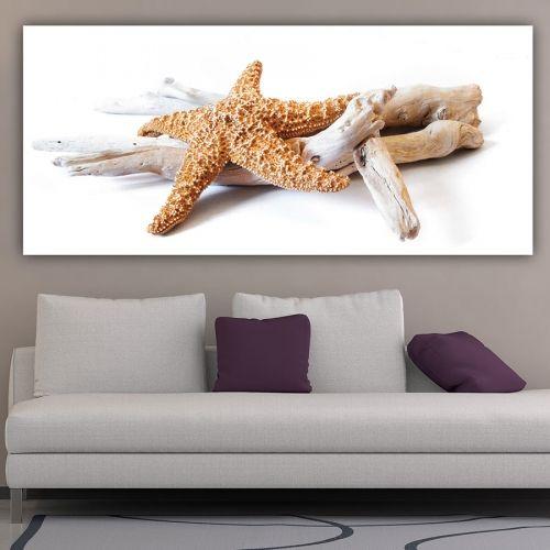 Αστερίας πανοραμικός πίνακας σε καμβά
