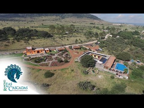Rancho Las Cascadas - Amazing Horseback Riding Resort - YouTube
