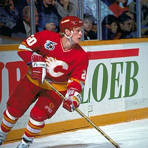 Gary Suter- met in a bar in Montreal... along with other players whom I did not know, do not remember!! Long story short, I passed up on hockey tickets, much to the sadness of my boyfriend! Haha!! MET!!!