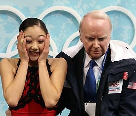 Mirai and Frank at the 2010 Olympics