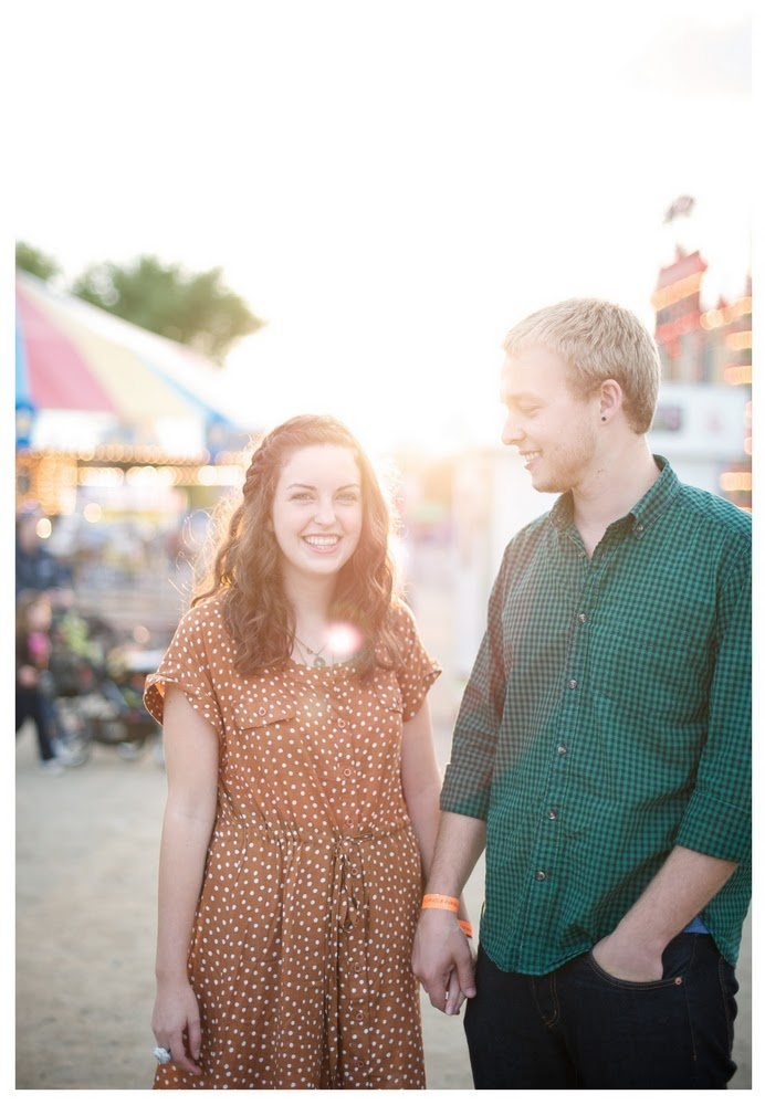 Fall fair engagement session