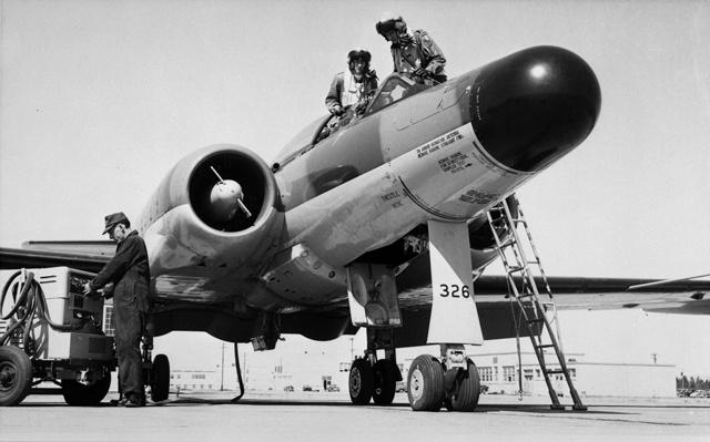Avro Canada CF-100 Mk.5D (100757) (CASM-22124)