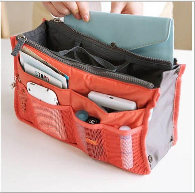 Ucuz 13 renk makyaj organizatör çantası kadın erkek rahat seyahat çantası çok fonksiyonlu kozmetik çantaları saklama çantası çantası makyaj çantası, Satın Kalite Kozmetik Çanta & Kılıflar doğrudan Çin Tedarikçilerden: Designer 2015 Fashion Casual Travel Bags Tote Handbags Waterproof Organizer Storage Bags Underwear Bra Makeup Cosmetic b