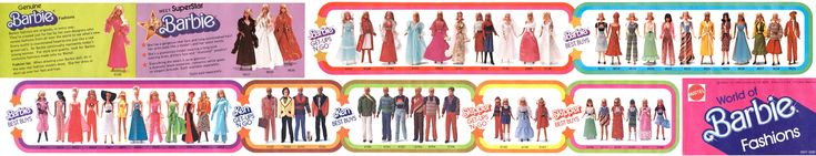 1977 Barbie World of Fashion Booklet
