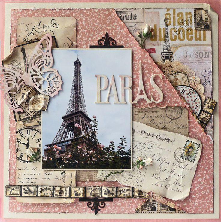 Scraps of Life: Paris in Pink - Imaginarium Designs