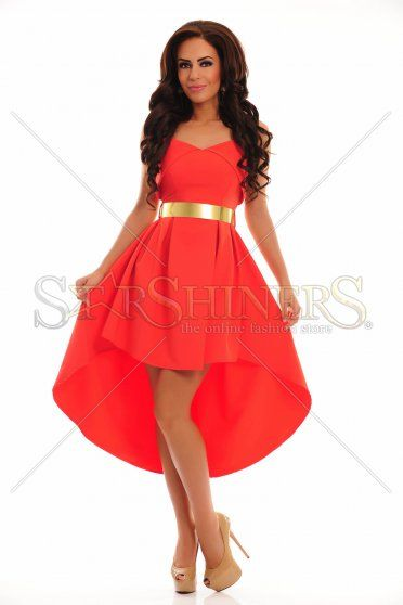 Rochie PrettyGirl Snappy Red