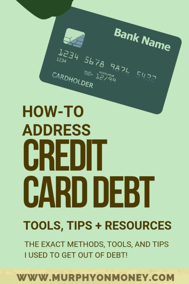 How To Address Credit Card Debt Without Destroying Your Credit Small Business Credit Cards Paying Off Credit Cards Credit Cards Debt