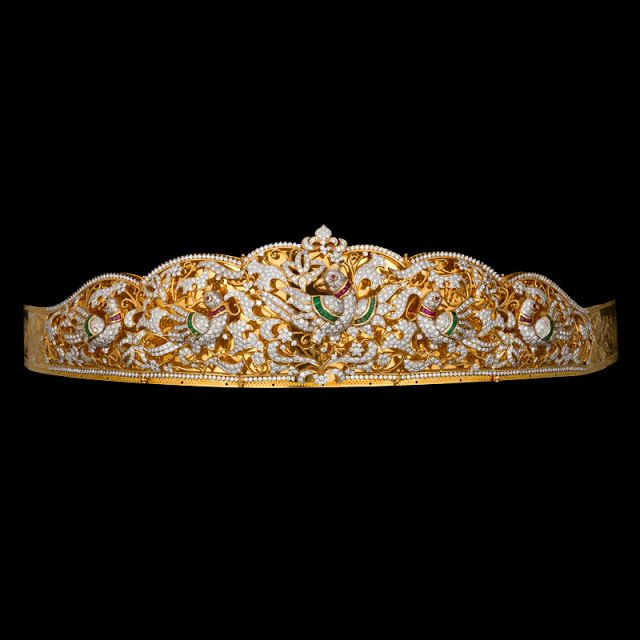 Indian Jewellery and Clothing: Ethnic vaddanams/Oddiyanams/kamar patta/waist belts from AVR Swarna mahal..