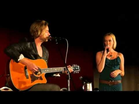 """Troy Baker (Booker DeWitt) and Courtnee Draper (Elizabeth Comstock) perform """"Will the Circle Be Unbroken"""" LIVE at MomoCon. THE BIOSHOCK INFINITE FEELS HAVE RETURNED."""