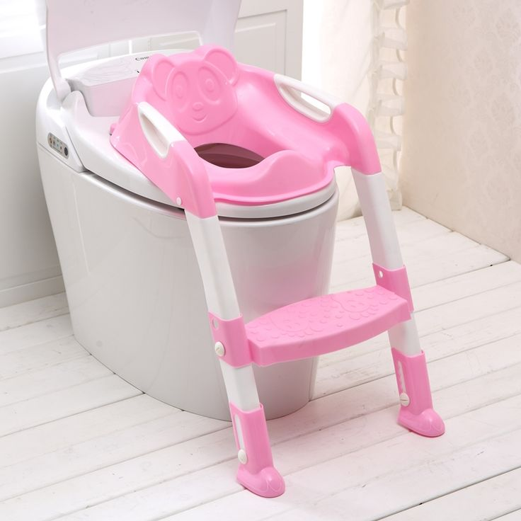 31.77$  Watch now - http://ai2o1.worlditems.win/all/product.php?id=32635817054 - Baby Toilet Seat Ladder Children Toilet Seat High Chair Folding Potty Infant Chair Toilet Seat Ladder for Children