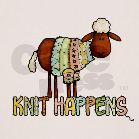 knit happens Organic: Knits Community, Knits Happen, Totes Bags, Knits Humor, Knits Gift, Knitter Things, Woolly Knits, Knits Sweaters, Close Knits