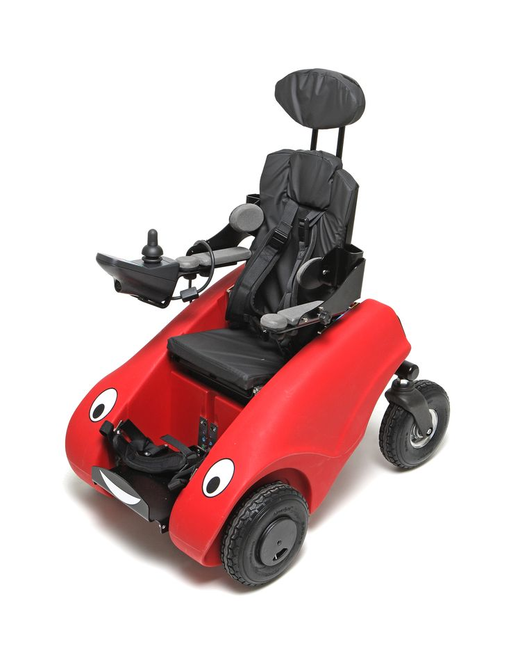 Wizzbug is a powered wheelchair designed for children under five. Have a look, as the company do a free loan scheme.