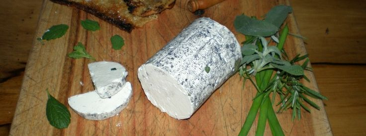 Beautiful hand made goats cheese from Tasmanian Highland Cheeses.