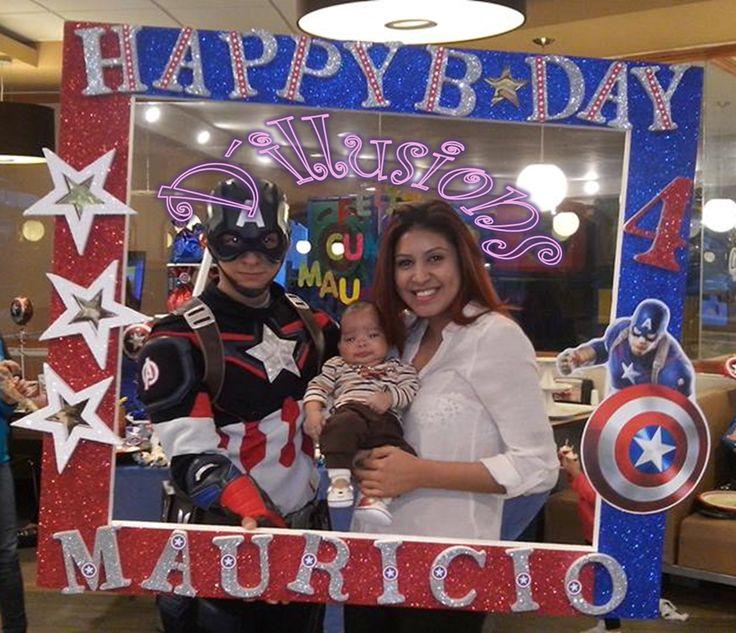 Marco para Fotos Capitán America