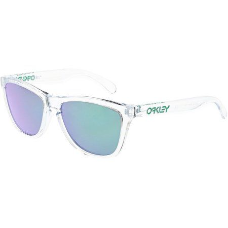 Oakley Frogskins Crystal Sunglasses, OO9013-A3, Clear