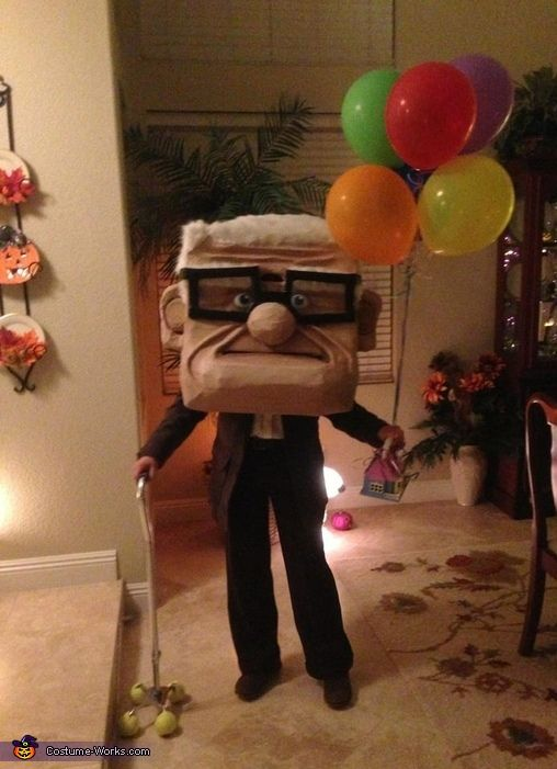 Carl Fredricksen - 2015 Halloween Costume Contest via @costume_works
