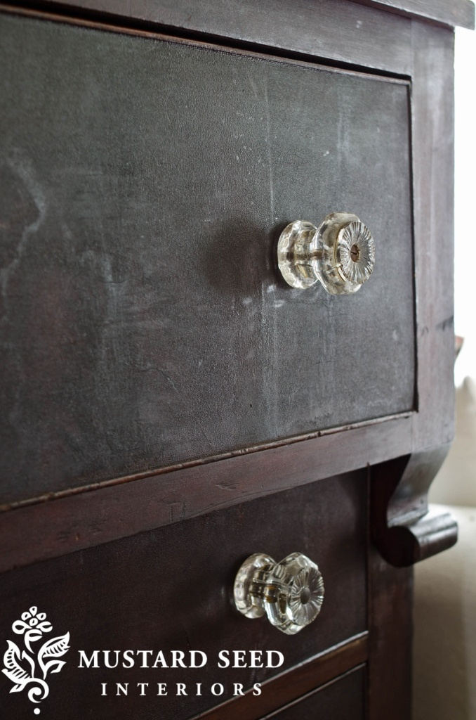 The Beautiful Look Of Old Wood {Empire Dresser} And Glass Knobs.these Would  Look Awesome On My Empire Dresser!