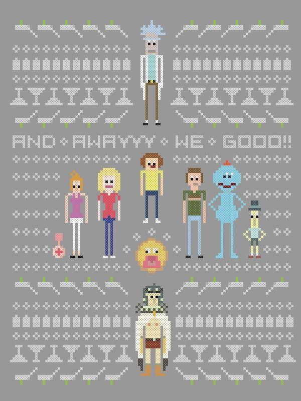 Rick and morty family tree