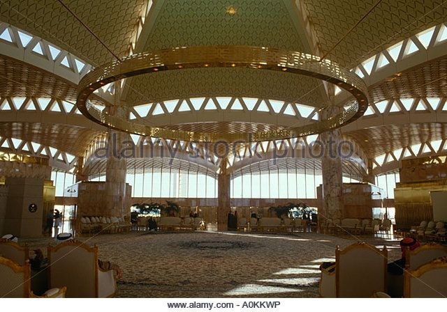 King Khalid Airport in Riyadh, Saudi Arabia - Stock Image