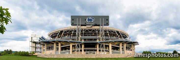 PENN STATE – CAMPUS – Beaver Stadium's new scoreboard.