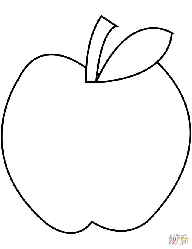 30 Best Picture Of Apple Coloring Pages Albanysinsanity Com Apple Coloring Pages Fruit Coloring Pages Apple Coloring