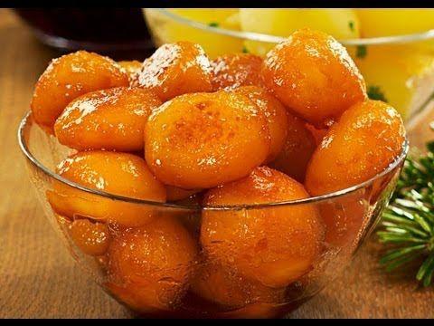 Датская кухня. Карамелизированный картофель и другие вкусности / Denmark. Browned Potatoes . - YouTube
