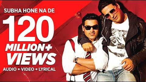 """Subha Hone Na De Lyrics from Bollywood Movie """"Desi Boyz"""" ,This song sung by Mika Singh, Shefali Alvares composed by Pritam and written by Kumaar. """"Desi Boyz"""" is an Indian comedy-drama film directed by"""