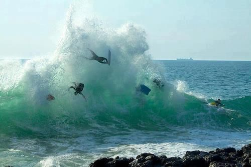 double wipeout!