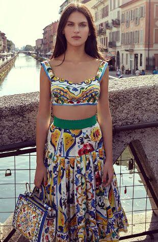 Sabine- Australia's Next Top Model DOLCE & GABANNA