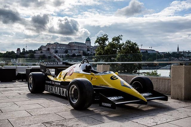 WEBSTA @renault Budapest is a dream place to celebrate the 40 years of Renault in F1 ! 🏁