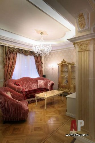 Дизайн интерьера загородного дома в классическом стиле | Interior design of a country house in the classical style