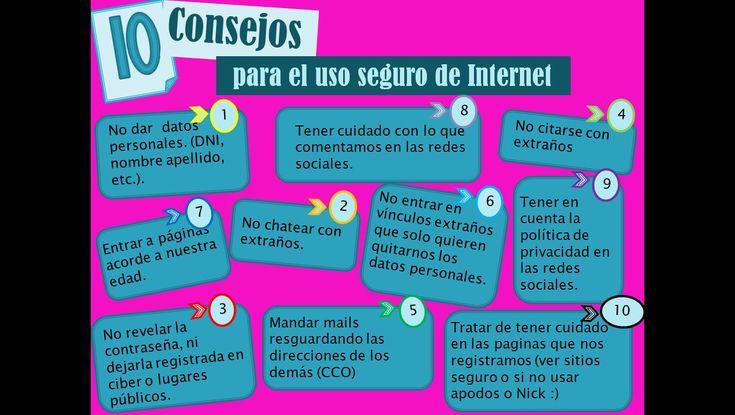 Lanean: Uso seguro en Internet. #REDucacion by @karmibe
