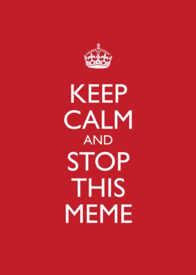 how to make a keep calm meme
