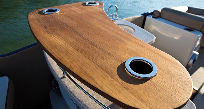 pontoon boat bar floor plans - Google Search