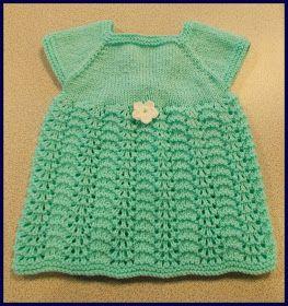 marianna's lazy daisy days: Meadow Sweet Baby Dress