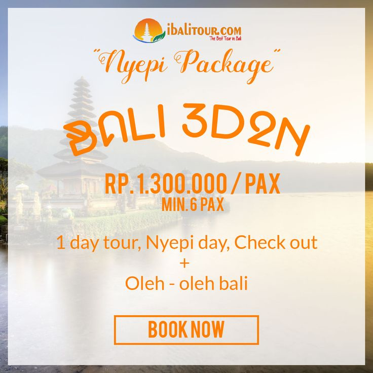 Nyepi Eve Special Packages – i Bali Tour