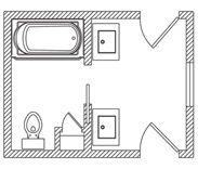 Bathroom Floor Plans Floor Plans And Floors On Pinterest