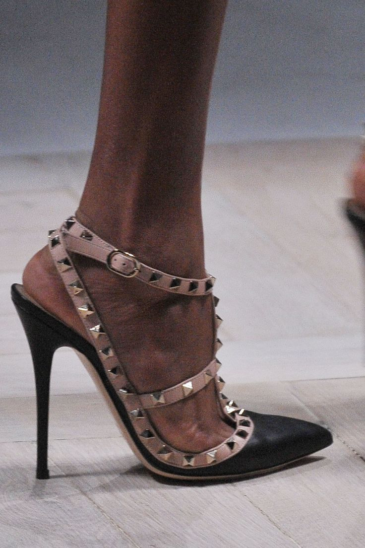 Valentino's studded heels: Just the shoe to greet 2013 in.