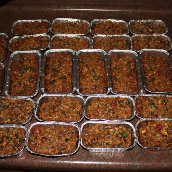 We recently found my husband's great-great-grandmother's fruitcake recipe and decided to try a batch. It was quite an experience.data-pin-do=